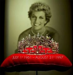 The Spencer Honeysuckle tiara. Owned by the Spencers, but Diana never wore it.