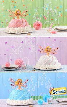 Prinzessin Kuchen | Einfach mit der Gugelhupfform bzw. Napfkuchenform gelingt dieser Prinzessinkuchen. Der bringt sicher nicht nur kleine Mädchen zum Staunen.