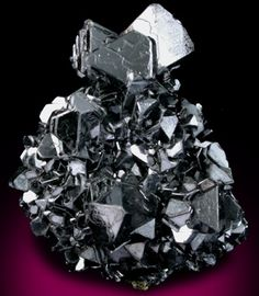 Sphalerite (Spinel-law twinned) from Idarado Mine, Ouray District, San Miguel County, Colorado
