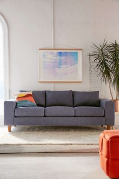 Percey Tweed Sofa - Urban Outfitters