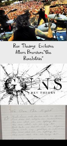 "Rev Theory: Exclusive Album Premiere""the Revelation"" Steve Moore, Album Stream, Walk The Line, What Is Coming, The Rev, Writing Process, Foo Fighters, Greatest Songs, Theme Song"