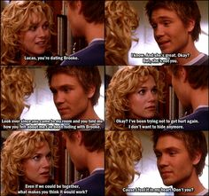 One Tree Hill 1x13 Hanging By A Moment