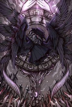 Game Character, Character Design, Death God, Magic Symbols, Plague Doctor, Fantasy Monster, Dnd Characters, Dark Souls, Conceptual Art