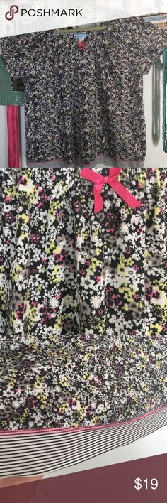 """Fernando Paige pj sleep top, floral pattern. This is a 55% cotton, 45% polyester pj top. It is sized at 3x but runs small bust is 50"""" around and flares out to 54"""" at band on bottom.  Has scoop neck and no elastic on bottom band. Brand new never worn with tags. . Fernando & Paige Intimates & Sleepwear"""