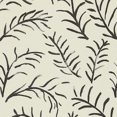 Wallpaper from Sanderson - Bloomsbury - Matisse Leaf #InteriorDesign
