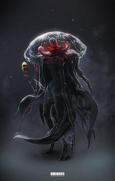 Beyond Human: Reapers, Marek Madej on ArtStation at https://www.artstation.com/artwork/61gE6