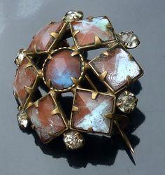 Antique Saphiret Victorian Brooch | antique jewellery | Jewels & Finery UK