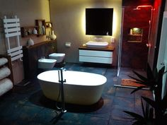Wow - utterly beautiful contemporary bathroom by Alice's Miniatures