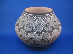 native+american+pottery | Pottery by Paula Estevan. Very well known for her Acoma Pueblo Pottery ...