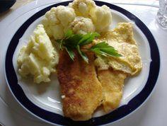 Das perfekte Pangasius Fischfilet mit Blumenkohl und Kartoffelbrei-Rezept mit einfacher Schritt-für-Schritt-Anleitung: Fisch auftauen lassen, waschen, mit…