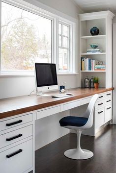 Scandinavian Home Office Design With Look Simplicity Ele.- Scandinavian Home Office Design With Look Simplicity Elegance Scandinavian Home Office Design With Look Simplicity Elegance – - Mesa Home Office, Home Office Space, Home Office Desks, Office Furniture, Desk Space, Furniture Plans, Kids Furniture, Home Offices, Small Office Desk