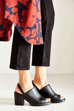 5b4a1676a22 Florence Vegan Leather Slingback Heel. Fall ShoesSummer ShoesWedge ...