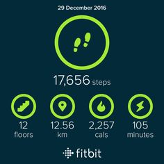 Fitbit: just a typical day... X