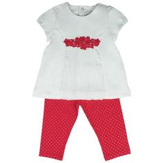 Honey & Clover Kidswear / Children's Apparel | 2-Piece Festive Cereza Set by Mayoral