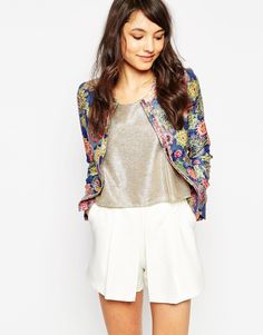 Image 1 of Traffic People Decadent Daisy St Pepper Jacket
