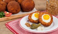Scotch Eggs - In the Kitchen with Stefano Faita. Looks like the perfect Easter breakfast!
