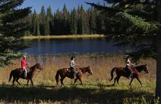 summer in BC include Horse Ranch vacations