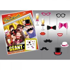 "Pack photo booth Géant ""chic"" Accessoires Photobooth, Photos Booth, Kit, Boutique, Group Shots, Birthday, Boutiques"