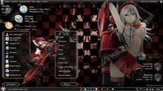 Anime Skin: Theme Windows 7 Alisa Illinichina Amiella God Eate...