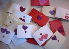 DIY Valentine cards!