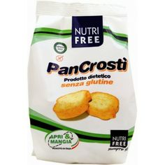 Pan Crosti 80gr Nutri Free Snack Recipes, Snacks, Free Products, Coconut Water, Gluten Free, Chips, Food, Snack Mix Recipes, Glutenfree