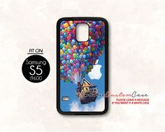 UP movie for Samsung S5 Black case