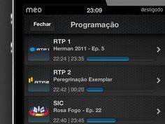 Dribbble - Meo Remote Epg View by Luis Alves
