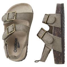 OshKosh Sandals...These would be so cute on my boys!