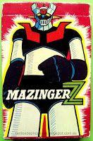 """Tardes de Phoskitos: Baraja de Cartas """"Mazinger Z"""""""