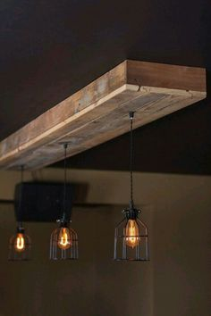 Reclaimed barn wood light fixtures//bar//restaurant //home. Rustic Lighting with. Reclaimed barn wood light fixtures//bar//restaurant //home. Rustic Lighting with… – centophobe. Rustic Kitchen Lighting, Rustic Light Fixtures, Farmhouse Lighting, Kitchen Light Fixtures, Farmhouse Lamps, Rustic Kitchens, Farmhouse Sinks, Rustic Bathrooms, Light Fittings