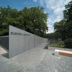 The Neue Messe Entrance to Planten un Blomen by A24