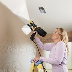 Our FLEXiO 2000 Paint Sprayer has the flexibility to spray indoors or out with the power to spray unthinned paint and stains with full coverage. Cleaning is cinch with just a few removable parts that separate and rinse clean. Learn more: