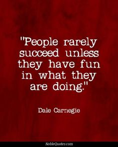 Another great truth from Dale Carnegie:)  Gratitude and inspiration