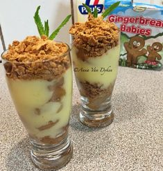 Ginger Pear and Custard Mini Desserts 2 pears, peeled and sliced Pinch of cinnamon vanilla Water to cover cup Paul's light custard 1 packet of unib… Mini Desserts, Healthy Desserts, Weight Watchers Meals, Custard, Gingerbread, Biscuits, Vanilla, Cooking Recipes, Pudding