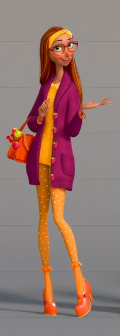 honey lemon outfit 1
