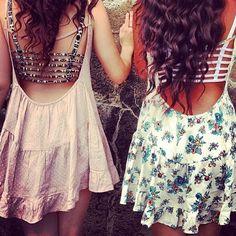 low-back dresses. zazumi.com