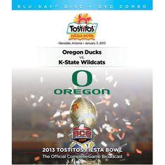 Oregon Ducks 2013 Fiesta Bowl Champions DVD/Blu-Ray Combo Pack