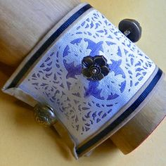 Spellbinders No-Sew Fabric Cuff by Lisa Fulmer for cool2craft.com #cre8time