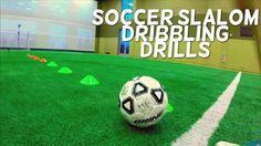 Soccer Slalom Drills to Improve Dribbling Fast - SoccerDrillsDaily