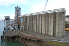 Grain Elevators Grass Valley, Oregon Usa, Brooklyn Bridge, Cowboys, Portland, Environment, Urban, City, Nature