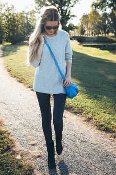 Afternoon at the Park Barefoot Blonde by Amber Fillerup Clark