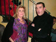 "Christmas Greetings 2014 ""House Malvini"" Michele Miglionico and journalist Anna Maria Greco"
