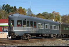 RailPictures.Net Photo: New York Central Observation Car at Fonda, New York by Jack M. Jakeman