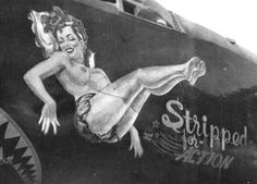 Lovely Ladies Painted On WWII Fighter Planes-10