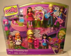 Polly Pocket POLLY FRIENDSHIP SET w 7 DOLLS & More! (2011) by Mattel. $20.15