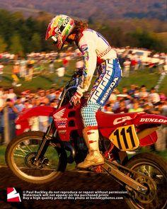 JMB # AMA Motocross u.s. # 1990 # Honda 111