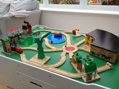Wooden Train Track Plans