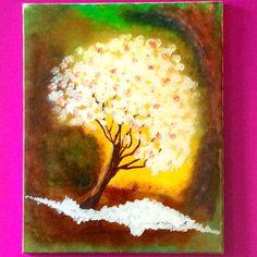 Cherry Blossom  By:Nerdyartmom