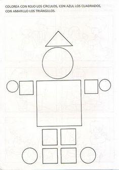 Manualidadesconmishijas: Figuras geométricas y gomets
