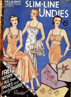 Weldon's Slimline Underwear magazine - 1930s